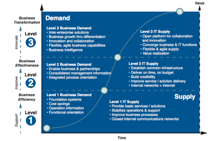 The Business Provider Maturity Model Pink Elephant